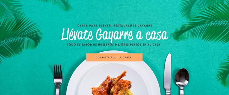 Comida para llevar de Restaurante Gayarre